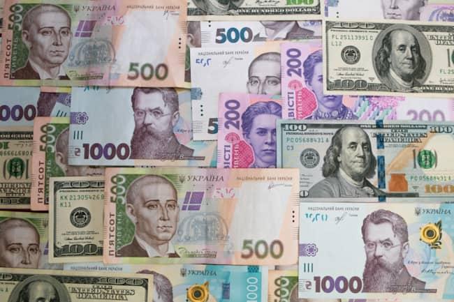 Різні банкноти
